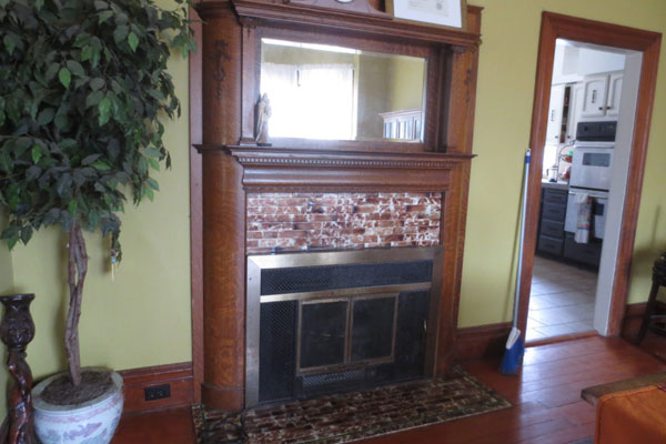 2737 SE 60 Ave- Dining Room Fireplace