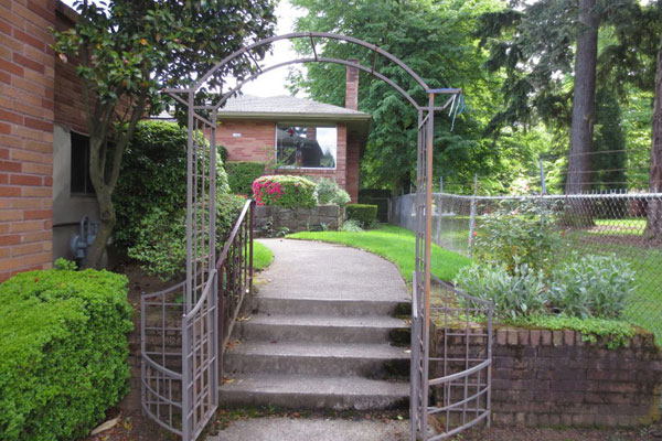1320 N.E. 55th Ave-Front Gate
