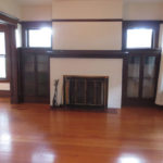 2106 SE Yamhill St-Living Room with Fireplace